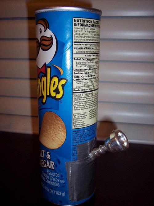 Pringles cannabis bong